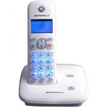 Telefone Sem Fio Motorola Auri 3500W de Mesa - com Identificador de Chamadas com Viva Voz Branco