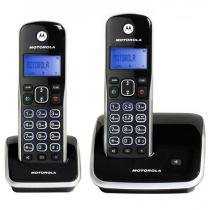 Telefone sem Fio Motorola Dect 6.0 com Id. Chamadas, Viva-Voz, Visor e Teclado Iluminado + 1 Ramal - -