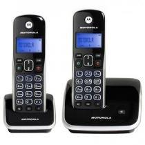Telefone sem Fio Motorola Dect 6.0 com Id. Chamadas, Viva-Voz, Visor e Teclado Iluminado + 1 Ramal - - Motorola