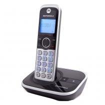 Telefone sem Fio Motorola GATE4800BT com Viva voz Identificador de Chamadas e Bluetooth -