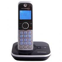 Telefone Sem Fio Motorola GATE4800BT de Mesa - com Identificador de Chamadas com Viva Voz Prata