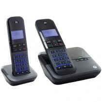 Telefone Sem Fio Motorola MOTO 4000 SE MRD2 - 1 Ramal de Mesa com Identificador de Chamadas