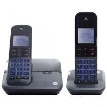 Telefone sem Fio Motorola Moto 6000 MRD2 1 Ramal - de Mesa com Identificador de Chamadas com Viva Voz
