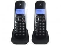 Telefone Sem Fio Motorola MOTO700-MRD2 - Identificador de Chamada Preto