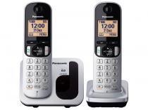 Telefone Sem Fio Panasonic - c/ Identificador de Chamadas KX-TGC212LB1