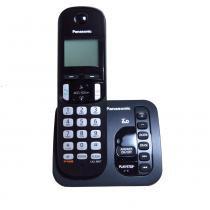 Telefone Sem Fio Panasonic Com Secretária Eletrônica Kx-Tgc220Lb - Panasonic