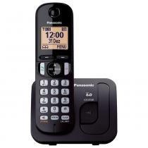 Telefone sem Fio Panasonic KX-TGC210LBB - Preto -