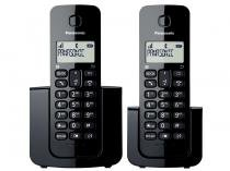 Telefone Sem Fio Panasonic + Ramal - Ident. de Chamadas Agenda Telefônica - TGB112