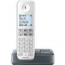 Telefone Sem Fio Philips Branco e Cinza D2351WG BR - Philips