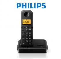 Telefone Sem Fio Philips C/ ID de Chamadas D1501B/B - Philips
