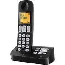 """Telefone sem Fio Philips D4051B BR Preto Visor gráfico de 18"""" - Philips"""