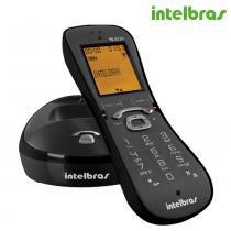 Telefone sem Fio Preto, Identificação de chamadas, Viva-voz, TS 8220 4120018 - Intelbras -