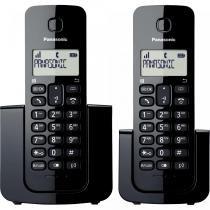 Telefone sem Fio + Ramal KX-TGB112LBB Preto - Panasonic -