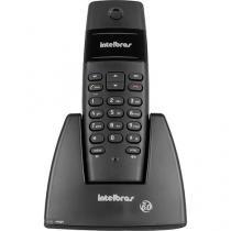 Telefone sem fio ts40 tecnologia dect preto - intelbras - Intelbras