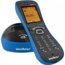 Telefone sem Fio TS8220 Id de Chamadas Viva Voz Azul Intelbras - Intelbras