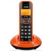 Telefone sem fio tsf 7600 c/identificador de chamada laranja - elgin -