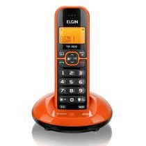 Telefone sem Fio TSF-7600 com Viva-Voz Laranja - Elgin - Elgin