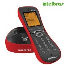 Telefone Sem Fio Vermelho TS 8220 Intelbras - Intelbras
