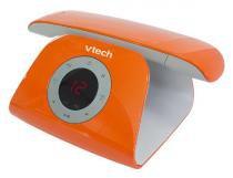 Telefone sem Fio Vtech Retrô, Laranja, Viva voz, Áudio Digital, Viva voz - Vtech