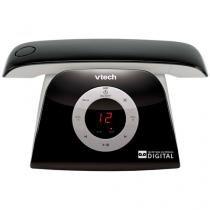 Telefone sem fio VTech Retro Phone B - Identificador de Chamada Viva Voz Preto