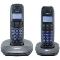 Telefone Sem Fio VTech VT650-MRD2 - Identificador de Chamada Viva Voz Branco