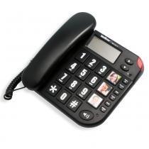 Telefone Tok Fácil com Identificador de Chamadas Viva Voz - Intelbrás -