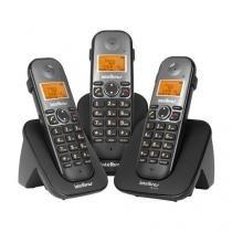 Telefones Sem Fio Intelbras Icon Ts 5123 Preto Preto Viva Voz - TS5123 -