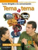 Tema a tema b1 - libro del alumno - curso de conversacion - Edelsa