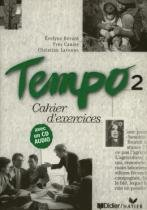 Tempo 2 cahier dexercices avec cd audio - Didier/ hatier