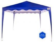 Tenda gazebo sanfonado 3x3m dobrãvel alumãnio praia e camping bel fix 330300 - Belfix