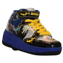 Tênis Roller - DC Comics - Batman - Preto e Amarelo - Royal Kids - Royal Kids