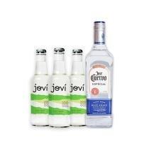 Tequila Jose Cuervo Silver 750ml + Ice Jovi Limão x3 275ml - José cuervo