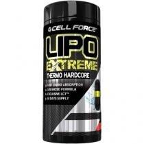 Termogênico Lipo Extreme - Thermo Hardcore - 30 Liquid Cápsulas - Cell Force
