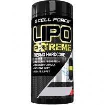 Termogênico Lipo Extreme - Thermo Hardcore - 60 Liquid Cápsulas - Cell Force