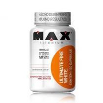 Termogênico Ultimate Fire White 120 Cápsulas - Max Titanium - Max Titanium