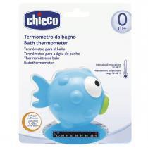 Termômetro de Água para Banho Chicco - Pexinho Azul -