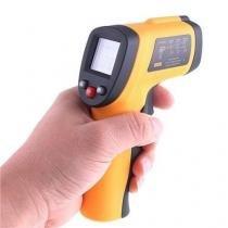 Termômetro Digital Infravermelho Mira Laser -50º A 380ºc - Mega page