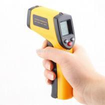 Termômetro Laser Sensor Medidor Temperatura Digital Distância Faixa De Temperatura: -50 A 380ºC Tem - Mega page