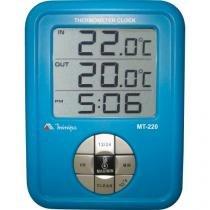 Termometro mt220 azul minipa -