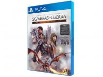Terra Média: Sombras da Guerra Definitive Edition - para PS4 Sony