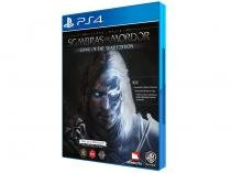 Terra Média: Sombras de Mordor - Game of the Year - para PS4 Warner