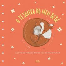 Tesouro do meu bebe - o livro de recordacoes - capa laranja - Vr vergara  riba