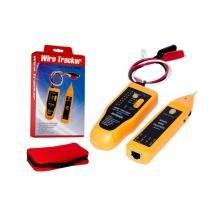 Testador De Cabos Rj45 Rj11 Mais Kit Localizador De Cabo De Rede Mj-168 - Wire tracker