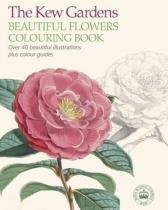 The Kew Gardens Beautiful Flowers Colouring Book - Arcturus publishing