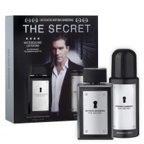 The Secret Antonio Banderas - Masculino - Eau de Toilette - Perfume + Desodorante -