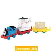 Thomas & Friends Trackmaster - Thomas e Harold Gira-Gira - Fisher-Price