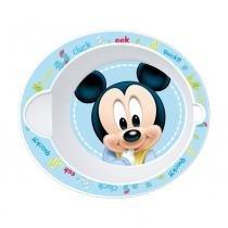 Tigelinha Plástico - Oval - Disney - Mickey Mouse - New Toys -