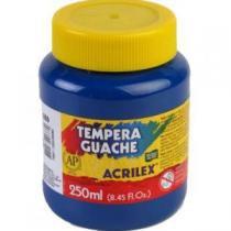 Tinta Guache 250ml Azul Turquesa 501 Acrilex - 1