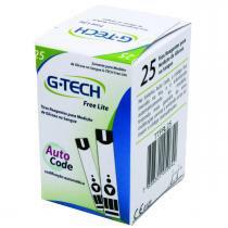 Tiras para Medição de Glicose G-Tech Free Lite 25 Tiras - Accumed