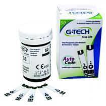 Tiras para Medição de Glicose G-Tech Free Lite 50 Tiras - ACCUMED